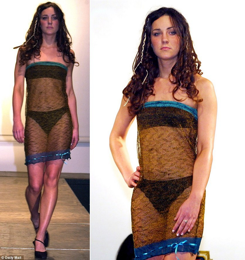 Chính bộ váy xuyên thấu táo bạo này đã phá vỡ friendzone giữa Kate Middleton và Hoàng tử William - Ảnh 3.