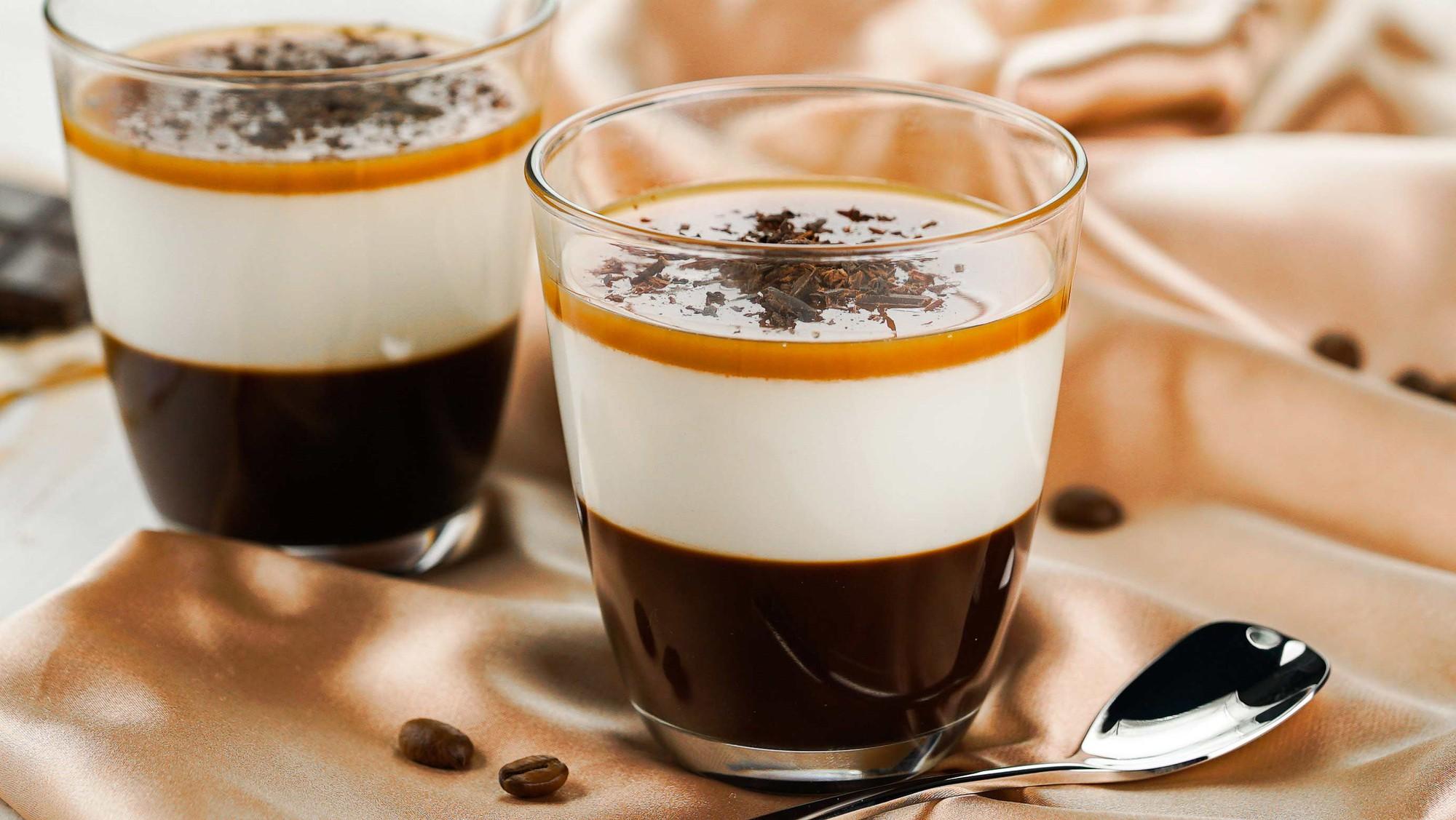 Mách bạn làm thạch cà phê sữa thơm ngậy - Ảnh 6.