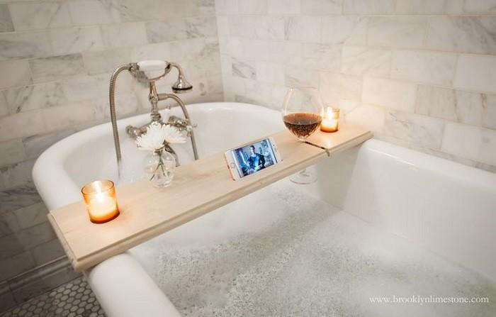 Chỉ với vật dụng này, phòng tắm nhà bạn không khác gì spa - Ảnh 9.