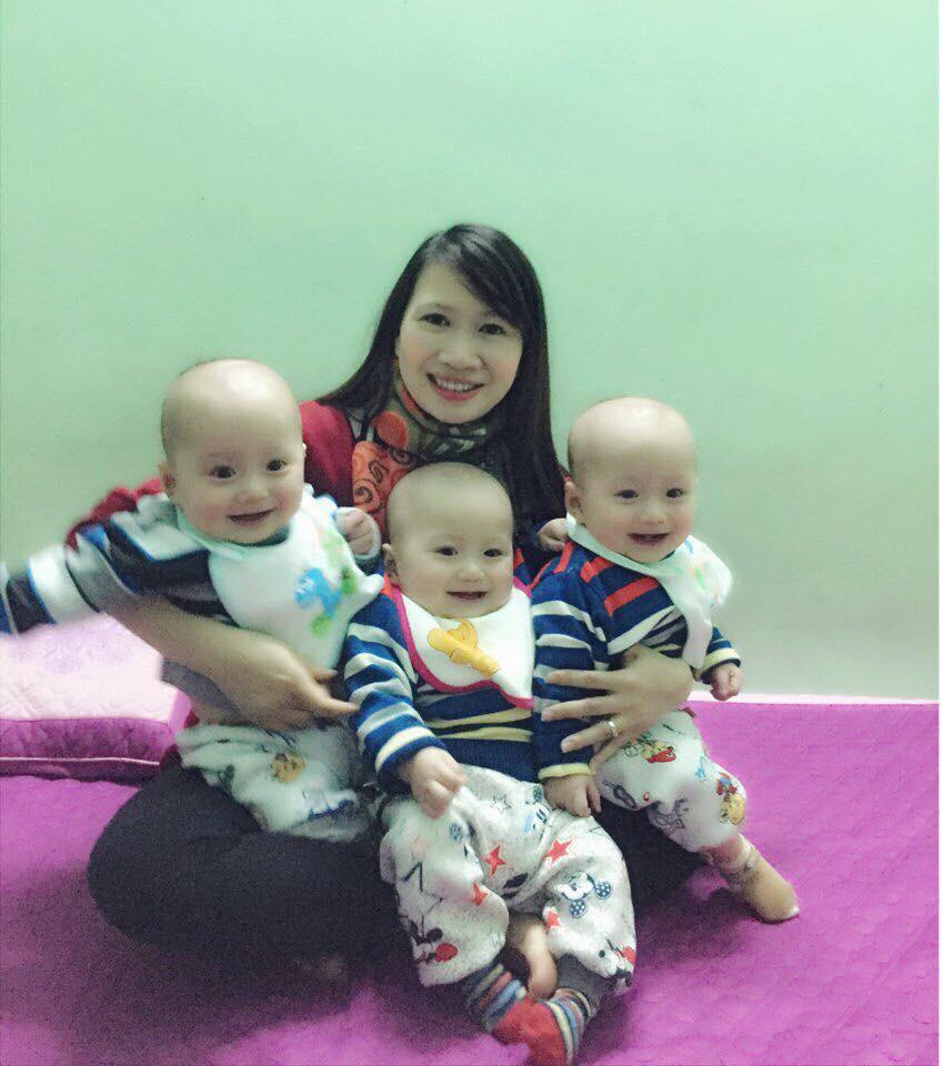 Mang thai ba, người mẹ đặt cược tất cả để giữ lại 3 con, trải qua vô vàn hiểm nguy và cuối cùng vỡ òa trong hạnh phúc - Ảnh 4.