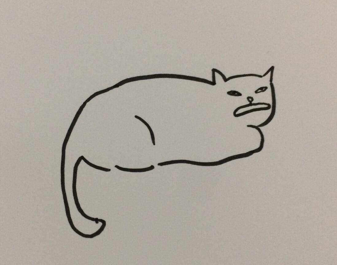 Góc sáng tạo: Được cô giáo giao bài tập vẽ con mèo, bé gái bê luôn boss nhà ra photo cho nhanh - Ảnh 7.