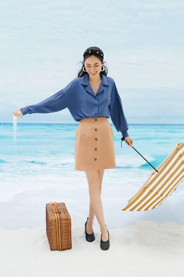 20 mẫu áo blouse siêu xinh từ các thương hiệu Việt chắc chắn sẽ đốn tim nàng trong những ngày giao mùa mát lịm - Ảnh 5.