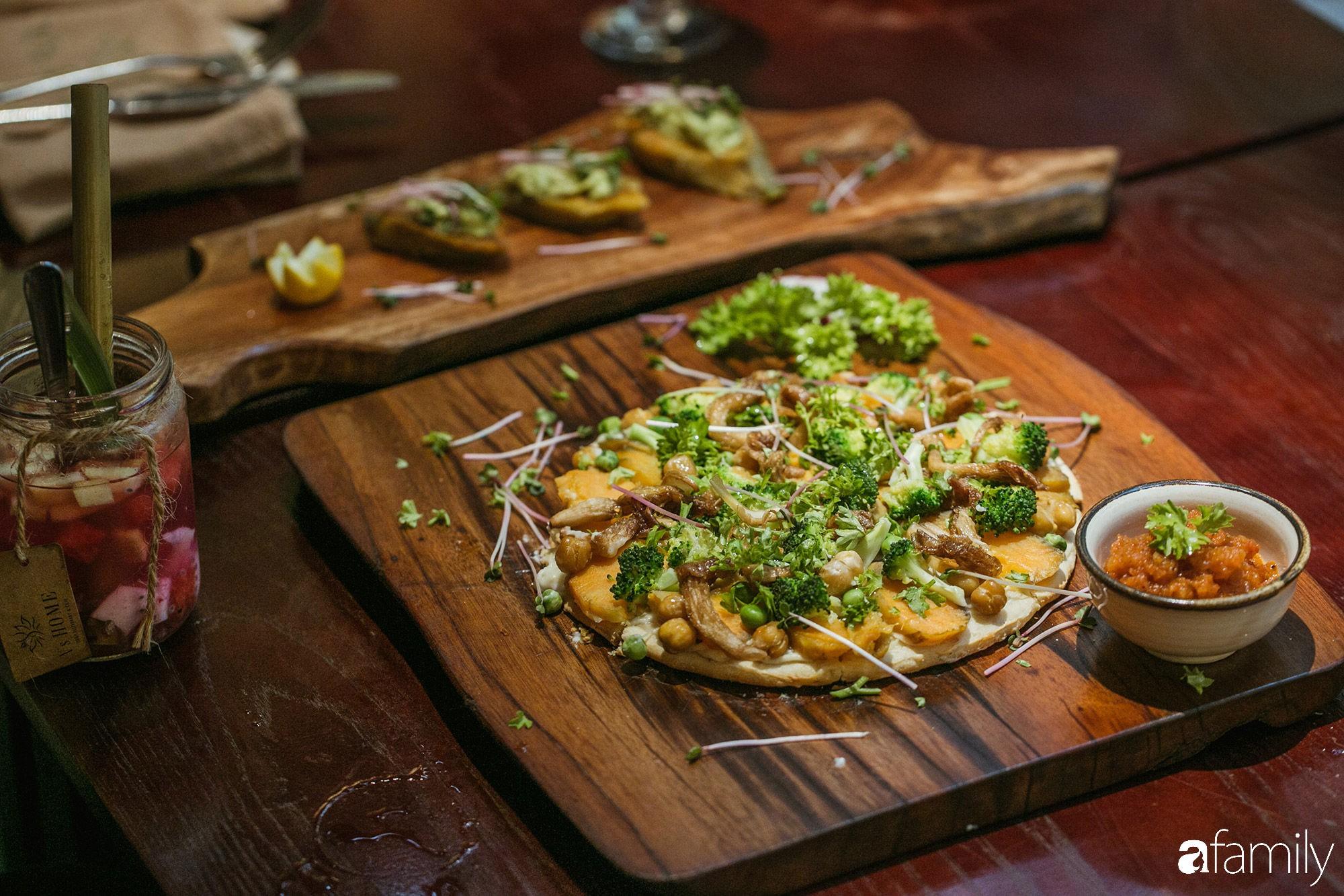 6 nhà hàng chay xinh đẹp và an nhiên nhất định phải đến trong mùa Vu Lan tại Hà Nội và Sài Gòn - Ảnh 12.