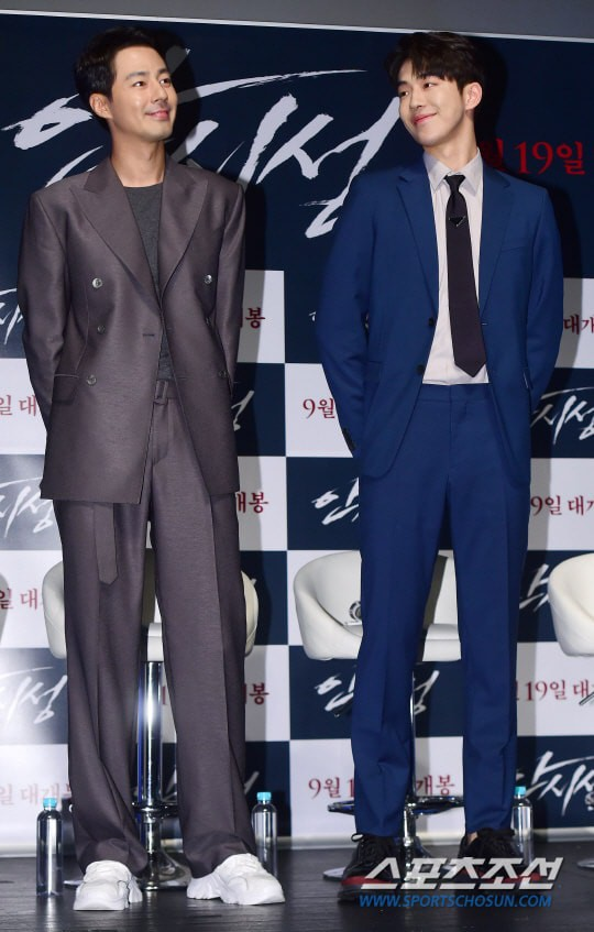 Sau khi dìm được Jo In Sung, Nam Joo Hyuk lại lo lắng vì lần đầu được đóng phim điện ảnh - Ảnh 1.