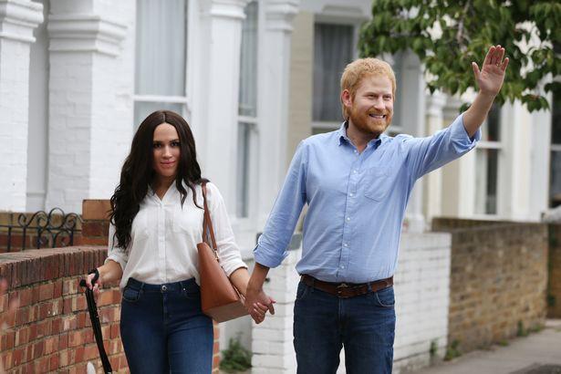 Người hâm mộ thích thú khi nhìn thấy Hoàng tử Harry và Meghan dắt thú cưng đi dạo trong công viên, đến tận nơi mới giật mình - Ảnh 4.