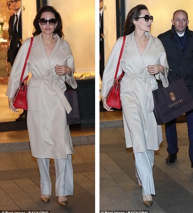 Đâu chỉ mỗi Angelina Jolie, loạt người đẹp Vbiz này cũng sáng rực cả góc phố nhờ những set đồ màu be  - Ảnh 5.