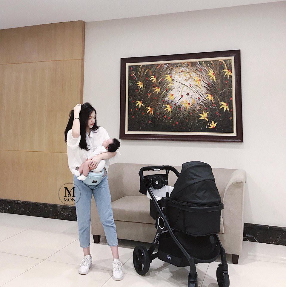 Hot mom Ngọc Mon tự tin khoe dáng thon sau 3 tháng sinh con - Ảnh 6.