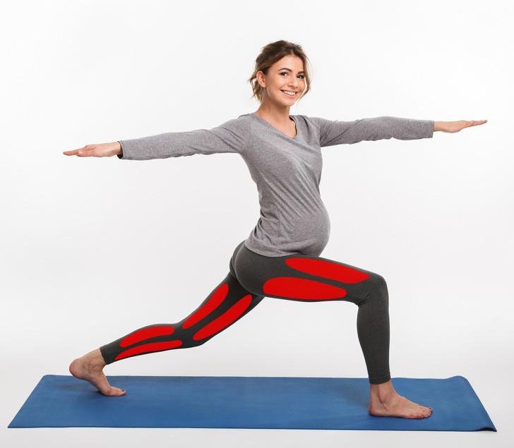 7 tư thế yoga cho bà bầu giúp đánh bay đau mỏi trong thai kỳ và các tư thế cần tránh - Ảnh 3.