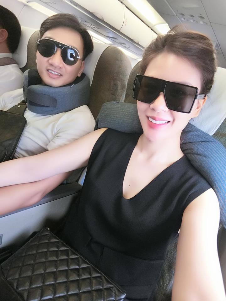 Vợ 2 của MC Thành Trung nghỉ việc tiếp viên hàng không, ngày càng xinh đẹp, sang chảnh sau 1 năm kết hôn - Ảnh 6.