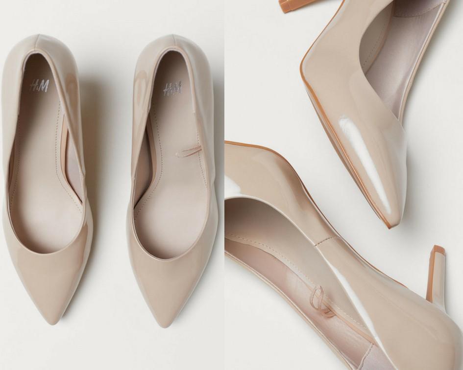 15 mẫu giày màu be đến từ Zara, H&M, Topshop vô cùng thanh lịch và trang nhã dành cho các quý cô công sở - Ảnh 6.