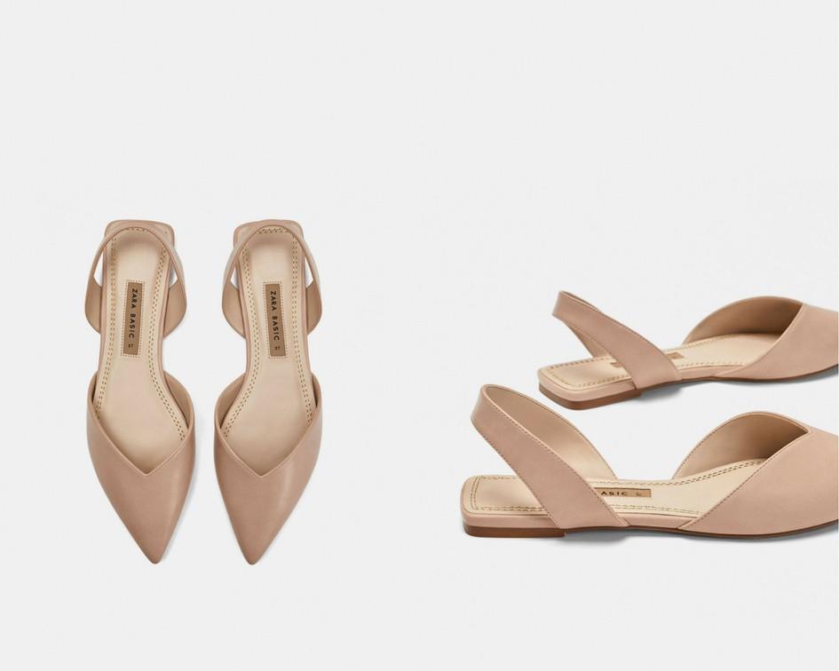 15 mẫu giày màu be đến từ Zara, H&M, Topshop vô cùng thanh lịch và trang nhã dành cho các quý cô công sở - Ảnh 2.