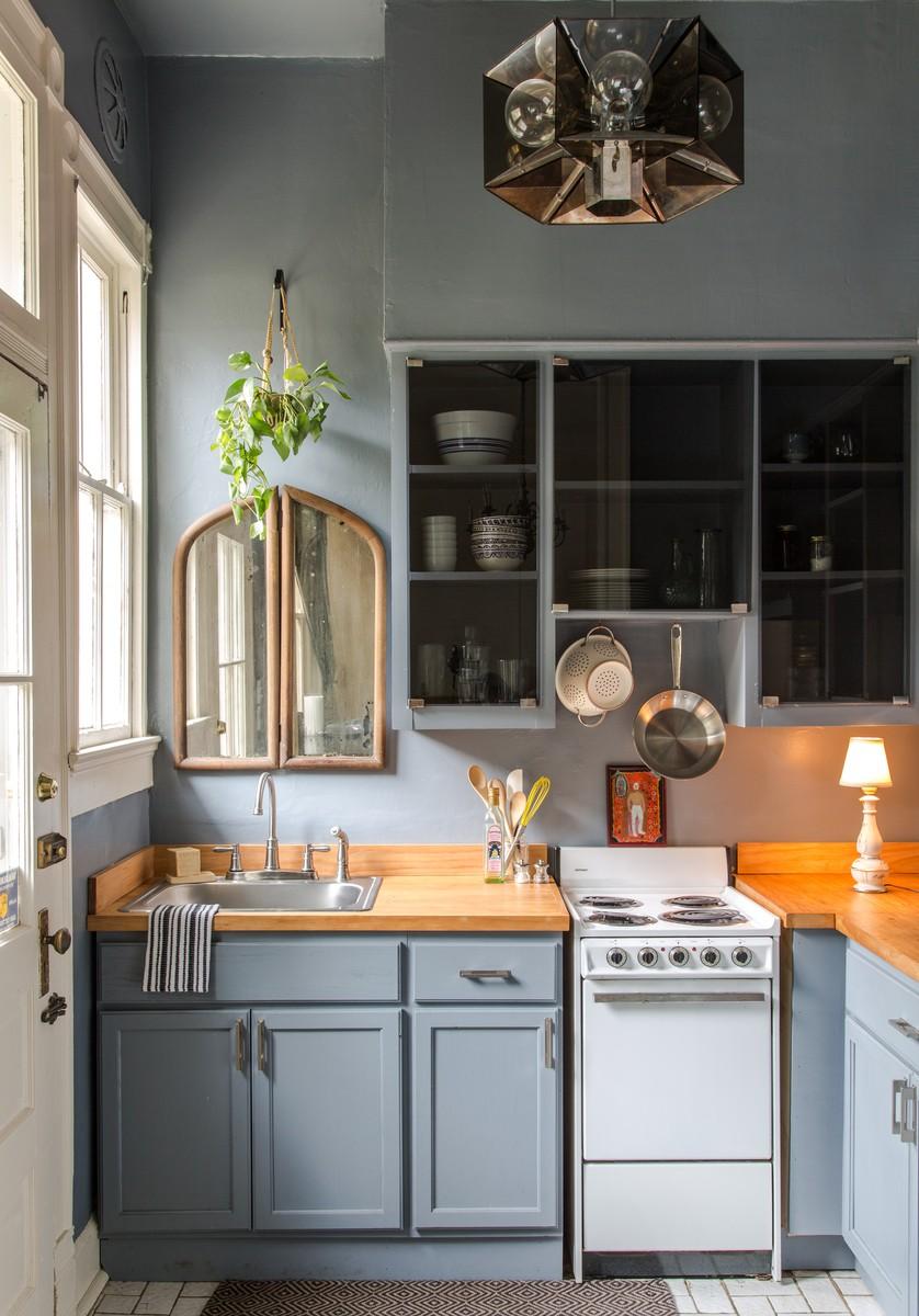 9 cách để mở ra hướng đi cho phòng bếp nhà chung cư chật chội  - Ảnh 2.