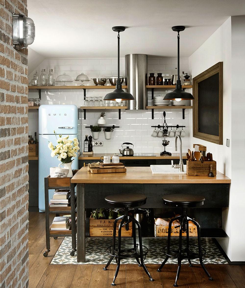 9 cách để mở ra hướng đi cho phòng bếp nhà chung cư chật chội  - Ảnh 4.