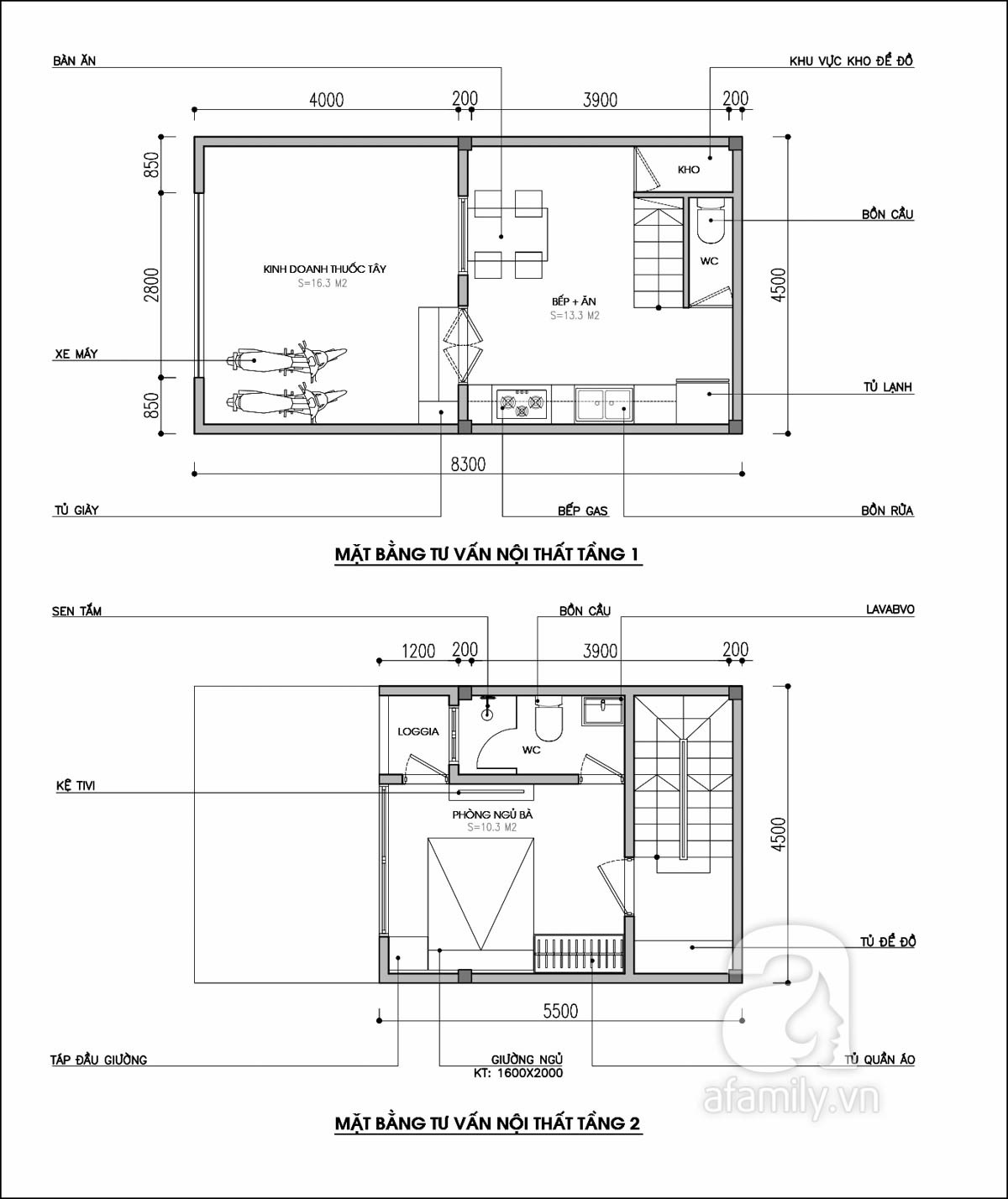 Tư vấn thiết kế nhà ống 20m² cho gia đình 3 thế hệ vừa để kinh doanh vừa ở - Ảnh 1.