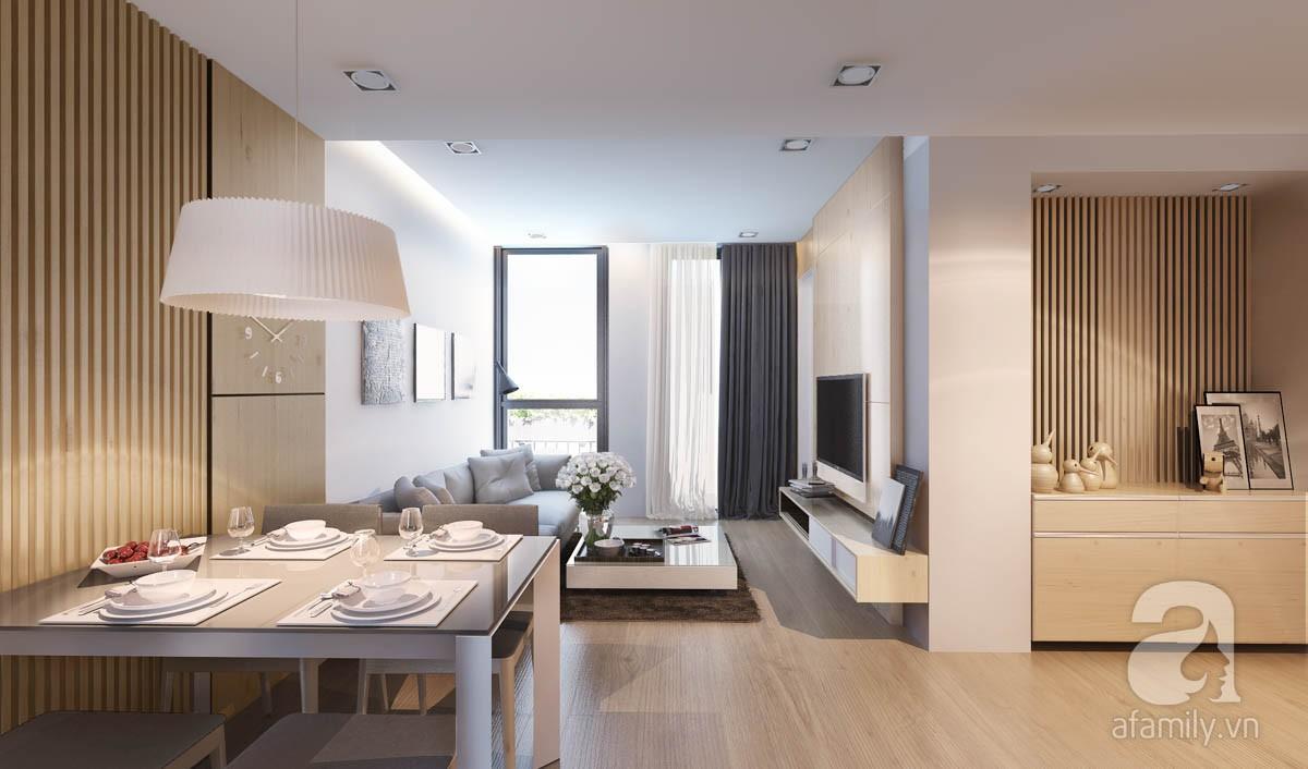 Chỉ với 100 triệu, đôi vợ chồng trẻ đã được KTS tư vấn thiết kế cho căn hộ 49m² với đầy đủ công năng - Ảnh 3.