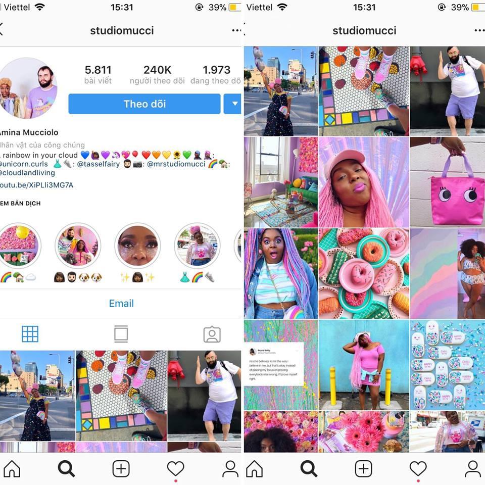 Lấy cầu vồng làm ý tưởng trang trí nhà, căn hộ nhỏ 35m² của cô gái trẻ đang gây sốt trên Instagram - Ảnh 1.