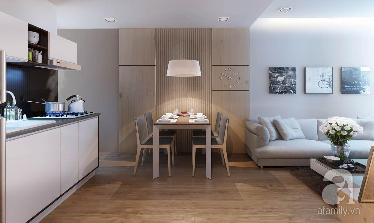 Chỉ với 100 triệu, đôi vợ chồng trẻ đã được KTS tư vấn thiết kế cho căn hộ 49m² với đầy đủ công năng - Ảnh 4.