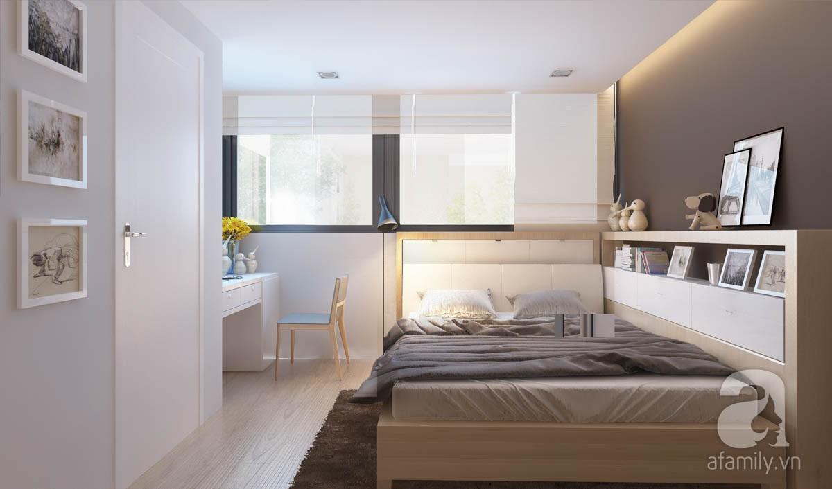 Chỉ với 100 triệu, đôi vợ chồng trẻ đã được KTS tư vấn thiết kế cho căn hộ 49m² với đầy đủ công năng - Ảnh 5.