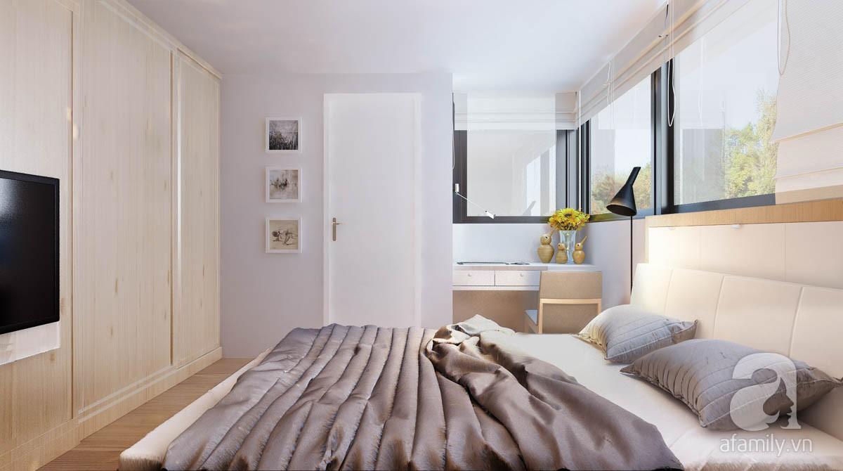 Chỉ với 100 triệu, đôi vợ chồng trẻ đã được KTS tư vấn thiết kế cho căn hộ 49m² với đầy đủ công năng - Ảnh 6.