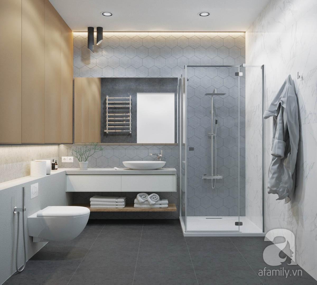 Chỉ với 100 triệu, đôi vợ chồng trẻ đã được KTS tư vấn thiết kế cho căn hộ 49m² với đầy đủ công năng - Ảnh 7.