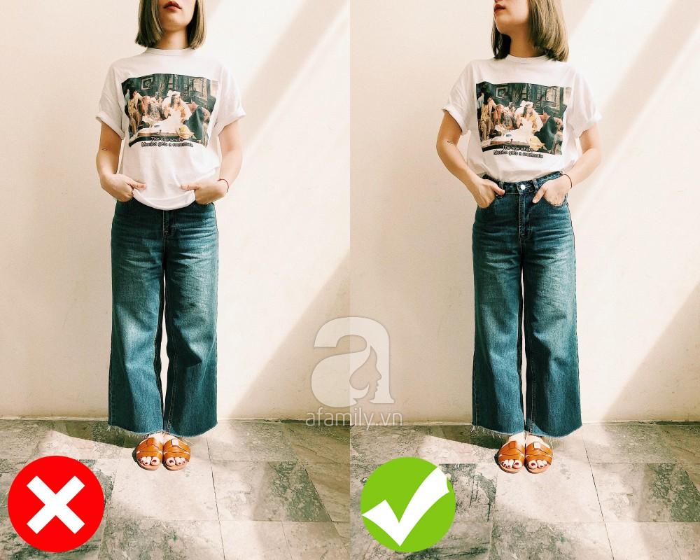3 cách diện đồ giúp cải thiện chiều cao kể cả khi bạn lười đi giày cao gót - Ảnh 3.