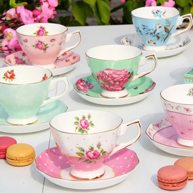 Tận hưởng không khí uống trà thảnh thơi với những bộ tách trà trang nhã, xinh xắn - Ảnh 2.