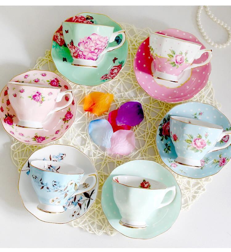 Tận hưởng không khí uống trà thảnh thơi với những bộ tách trà trang nhã, xinh xắn - Ảnh 3.