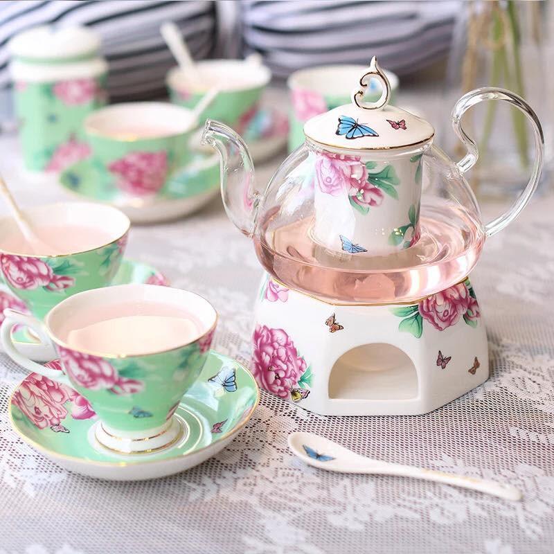 Tận hưởng không khí uống trà thảnh thơi với những bộ tách trà trang nhã, xinh xắn - Ảnh 4.