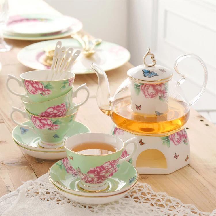 Tận hưởng không khí uống trà thảnh thơi với những bộ tách trà trang nhã, xinh xắn - Ảnh 5.