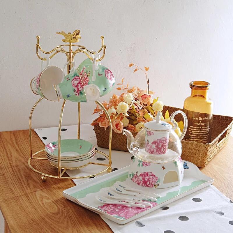 Tận hưởng không khí uống trà thảnh thơi với những bộ tách trà trang nhã, xinh xắn - Ảnh 6.