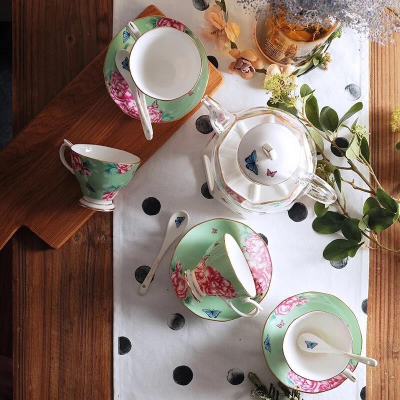 Tận hưởng không khí uống trà thảnh thơi với những bộ tách trà trang nhã, xinh xắn - Ảnh 7.