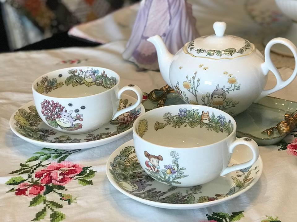 Tận hưởng không khí uống trà thảnh thơi với những bộ tách trà trang nhã, xinh xắn - Ảnh 11.