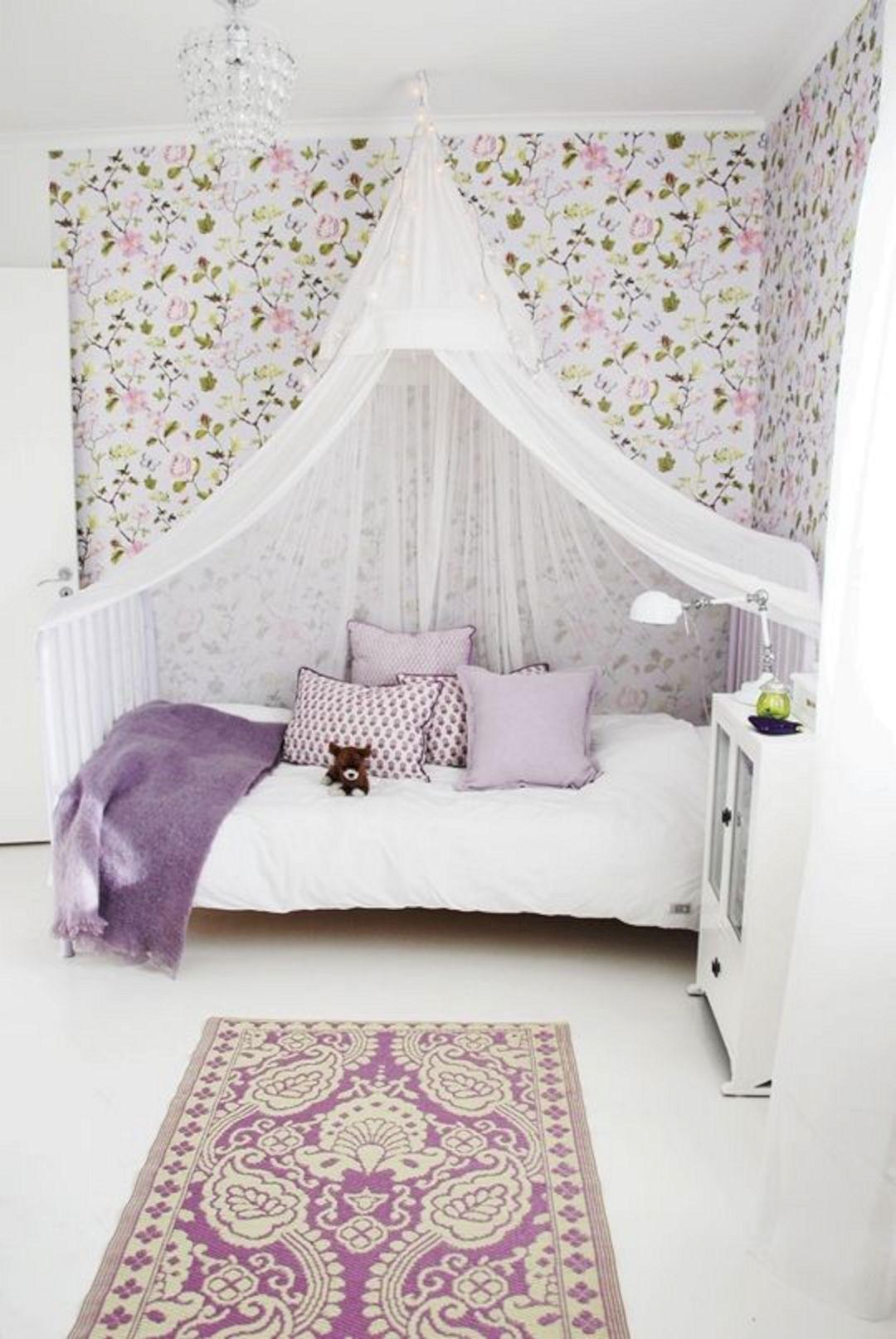 Thiết kế phòng ngủ cho bé gái dễ thương như trong cổ tích làm các bậc phụ huynh phải học tập tức thì - Ảnh 1.