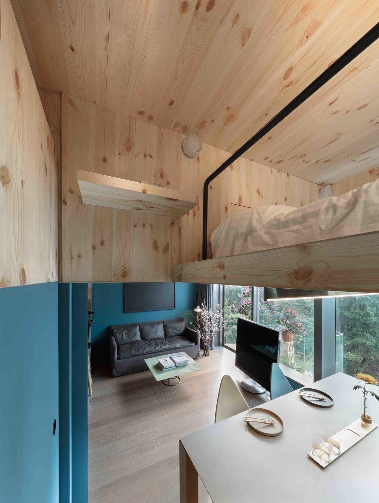 Chiêm ngưỡng căn hộ nhỏ này, bạn sẽ thấy nhà nhỏ nhưng có trần cao thì mọi việc đều được giải quyết đơn giản - Ảnh 4.