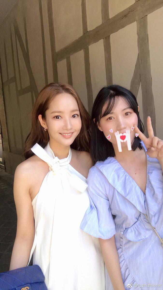 """Park Min Young diện váy trắng tung tăng trên phố, nhưng bí mật phía sau và cuộc """"đụng độ"""" với Angela Baby thì không phải ai cũng biết - Ảnh 4."""