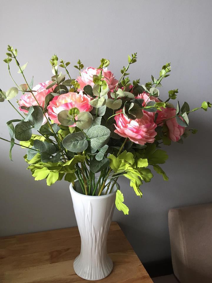Hoa lụa đẹp không khác gì hoa thật -  thú chơi mới của những chuyên gia trang trí nhà cửa - Ảnh 11.