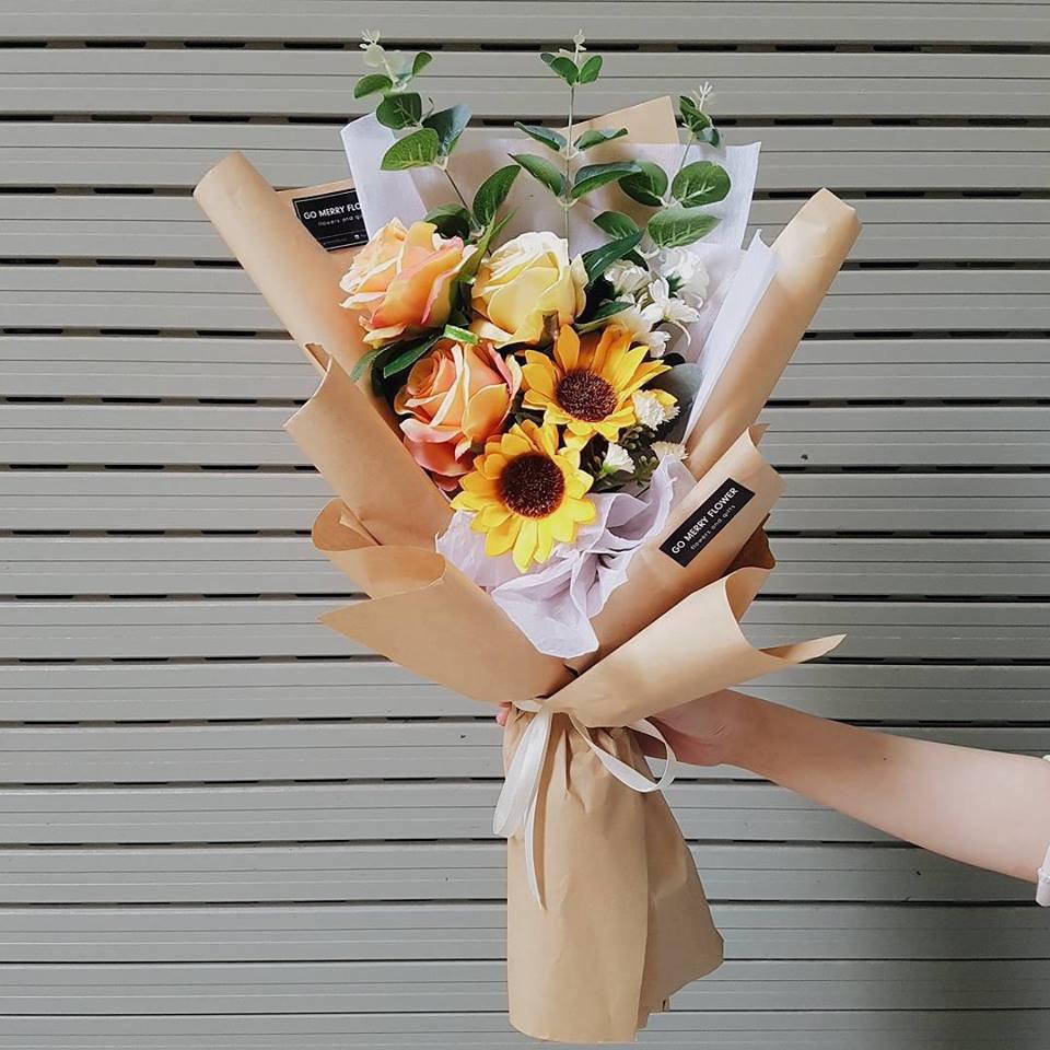 Hoa lụa đẹp không khác gì hoa thật -  thú chơi mới của những chuyên gia trang trí nhà cửa - Ảnh 13.
