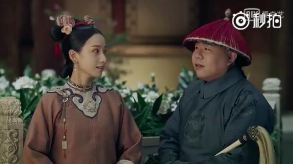 Fan Hoàng hậu Tần Lam nhất định không được xem: Hoàng đế đặt Anh Lạc ngồi trên đùi sau đó ôm hôn  - Ảnh 8.