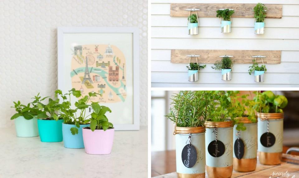 15 ý tưởng cho thấy chỗ nào trong nhà bạn cũng có thể trồng cây gia vị siêu xinh  - Ảnh 1.