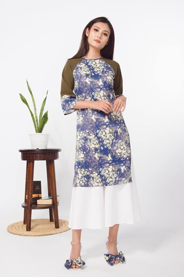 Còn đúng 1 tháng nữa là Tết, và đây là 7 mẫu áo dài cách tân đẹp duyên nhất cho nàng diện trong Tết này - Ảnh 23.