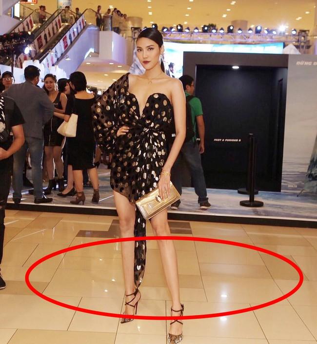Cũng như bao chị em khác, các người đẹp Việt cũng có chiêu bóp eo, kéo chân, làm mặt... của riêng mình  - Ảnh 7.