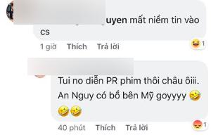 Trong khi An Nguy khóc lóc xác nhận yêu Kiều Minh Tuấn, cư dân mạng đã tố cáo chuyện nữ diễn viên đã có người yêu bên Mỹ - Ảnh 2.