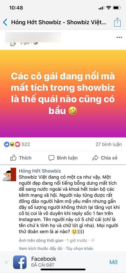 Trong khi Phạm Hương thông báo đi Mỹ dưỡng bệnh thì lại rộ lên tin đồn đi sinh con - Ảnh 1.