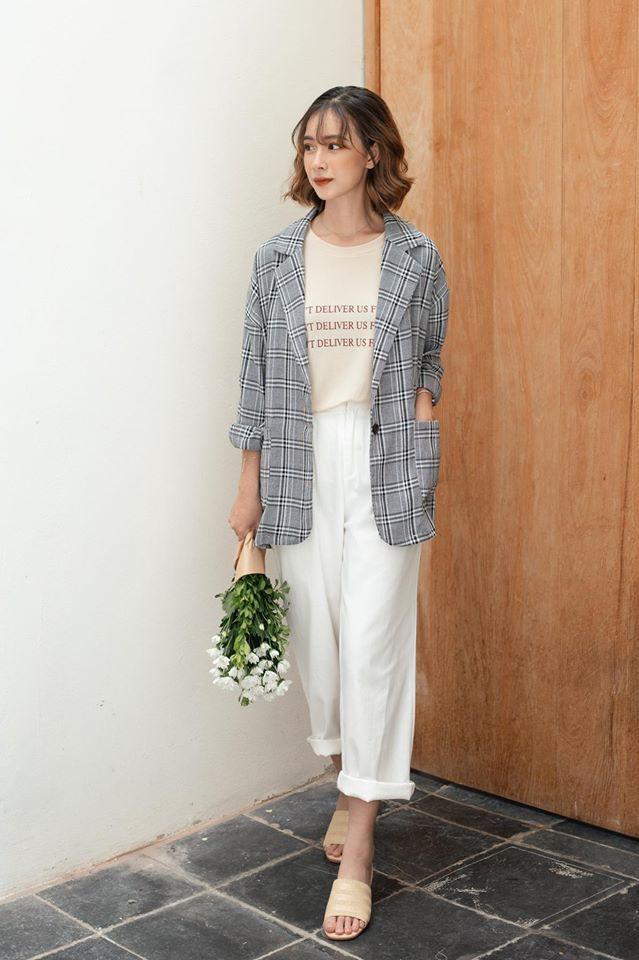 Đừng chỉ mải sính ngoại, thương hiệu Việt cũng có nhiều mẫu blazer xinh xắn mà nếu bạn không sắm ngay thì quả là thiếu sót  - Ảnh 8.