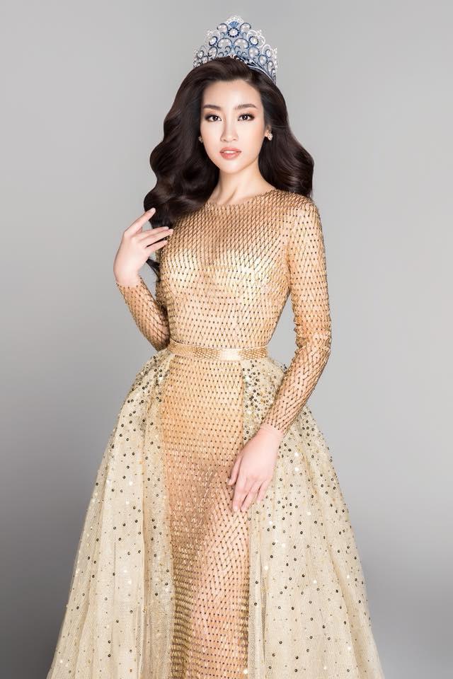 Đỗ Mỹ Linh: Từ cô gái bị chê bầm dập với nhan sắc thiếu mì chính lúc đăng quang đến danh xưng Hoa hậu bảo vật quốc gia - Ảnh 4.