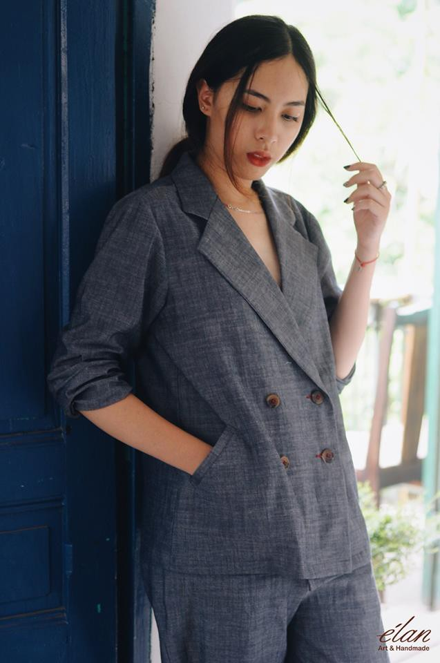 Đừng chỉ mải sính ngoại, thương hiệu Việt cũng có nhiều mẫu blazer xinh xắn mà nếu bạn không sắm ngay thì quả là thiếu sót  - Ảnh 12.
