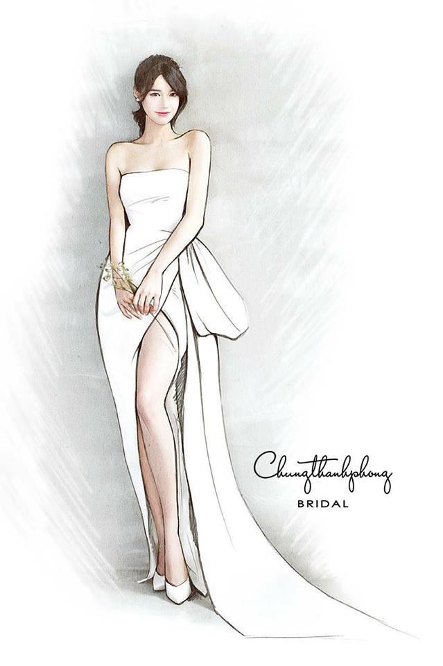Lộ diện 1 trong 3 chiếc váy cưới lộng lẫy của Nhã Phương cho ngày trọng đại - Ảnh 2.
