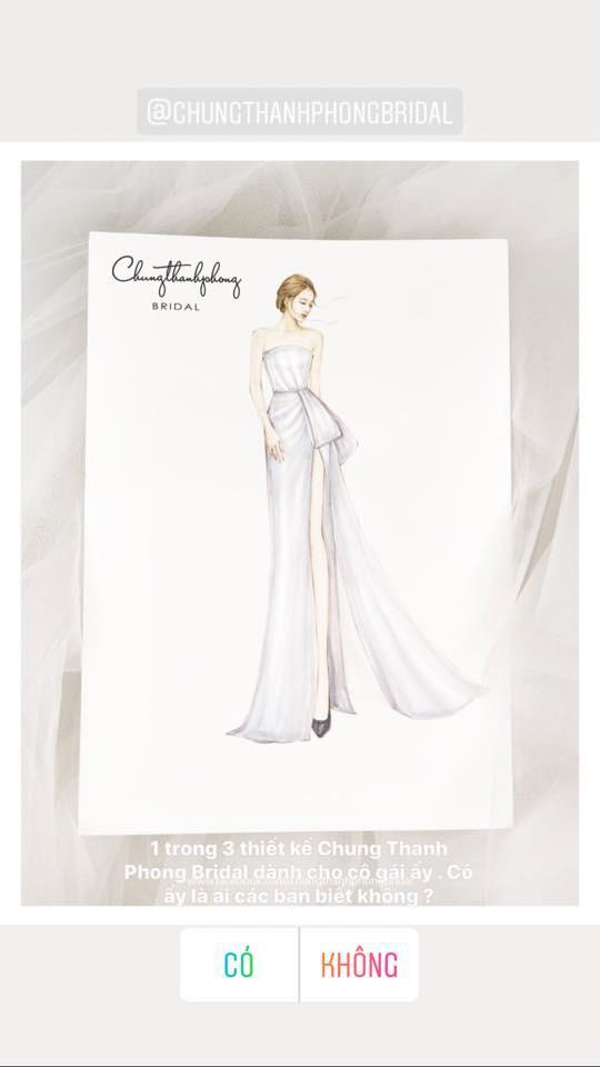 Lộ diện 1 trong 3 chiếc váy cưới lộng lẫy của Nhã Phương cho ngày trọng đại - Ảnh 1.