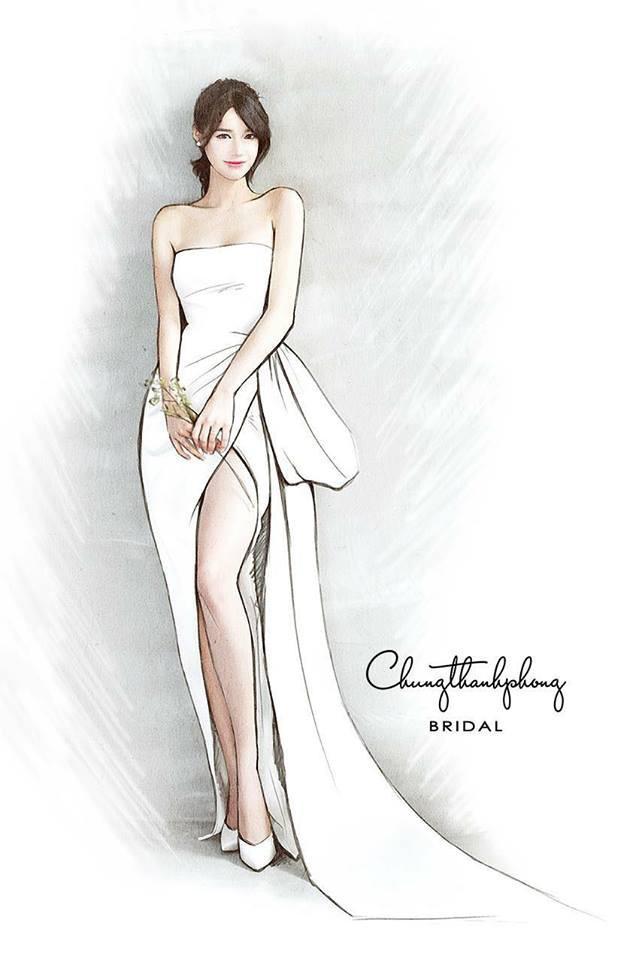 Ngây người ngắm nhìn Nhã Phương xinh đẹp, mơ màng diện  2 mẫu váy cưới tiếp theo trong clip thử váy được NTK Chung Thanh Phong hé lộ - Ảnh 8.