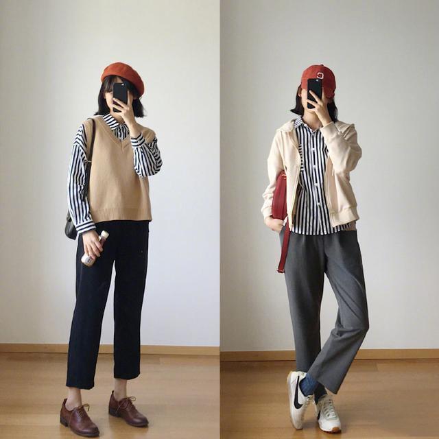 Duy nhất một kiểu quần vải có tới 16 cách kết hợp giúp hack dáng siêu đỉnh dành cho nàng công sở - Ảnh 7.